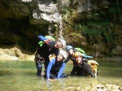 canyon initiation nice pierrefeu saut ludique facile fun