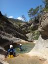 canyoning débutant proche de nice sur la cote d'azur pour tous