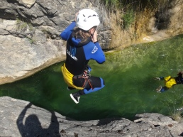 canyoning cote azur french riviera