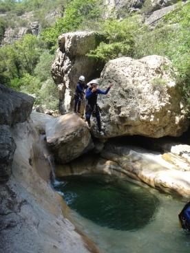 canyoning cote azur beau et facile