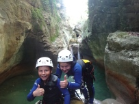 canyoning proche nice antibes cannes