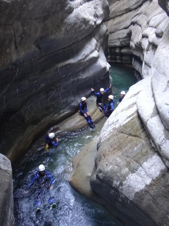 canyon nice fun saut glissade