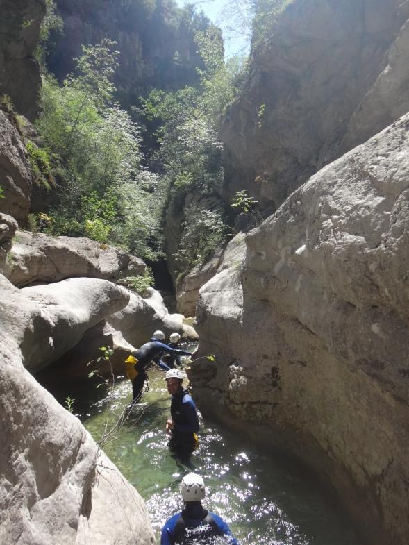 fun canyon nice monaco baignade