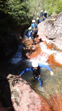 canyoning avec guide valberg beuil moniteur canyon