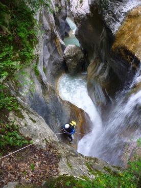 canyoning maglia breil italie france cote d'azur monaco