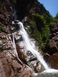 canyon expert des alpes maritimes roche rouge belle cascade longue journée sportive