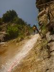 en avant pour la dernière cascade de lapeira