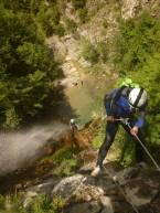canyon expert, ne pas avoir le vertige