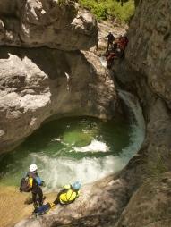 canyon initiation proche de nice