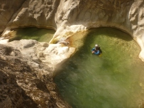 canyon roquesteron nice proche camping