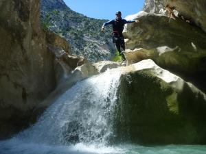 canyon esteron verdon la palud canyoning beau canyon sport