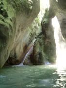 toboggan dans canyon nice canyoning