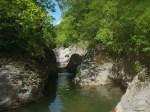 canyon entrevaux puget train des pignes