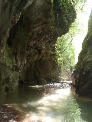 canyoning haut var puget thenier