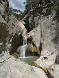 saut dans cuebris canyon ludique
