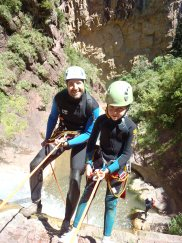 canyoning valberg guillaumes beuil rappel pélites