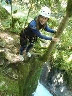 grand sauts dans la maglia, plus beau canyoning
