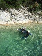 piscine naturel, natural pool clear water