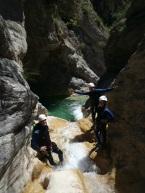 nice canyon cote d'azur fun slide and jump