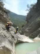 saut dans canyon de cuebris proche nice fun et soleil