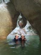 canyoning canyoneering cote d'azur