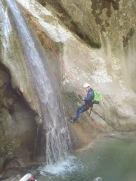 rappel canyon haut pays niçois