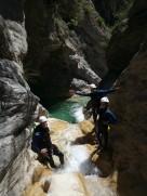 canyoning vintimille proche de monaco et nice