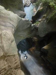 canyon tessin canyon encadrement guide biasca bellinzona