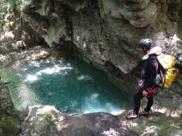 canyon vertical ensoleillé et très beau