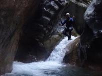 canyoning proche de nice à breil sur roya