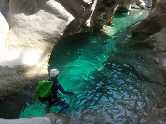 canyoning 06 alpes maritimes cote d'azur
