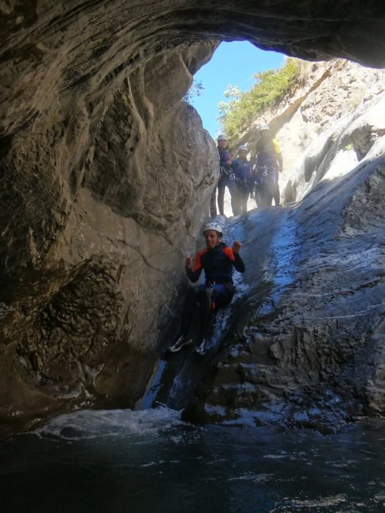 canyoning fun valberg barcelonette annot