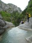 canyon canyoning entrevaux débutant castellet