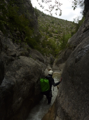 canyoning sauvage découverte alpes haute provence