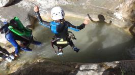 saut canyoning haut var puget thenier