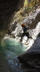 canyoning enfant débutant child fun