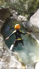 saut canyoning col du fa plaisir
