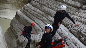canyon stage albania formation training