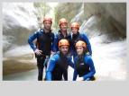 ambiance canyon riou pierrefeu esteron debutant