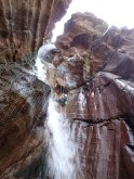 Clue d'amen avec un guide canyon